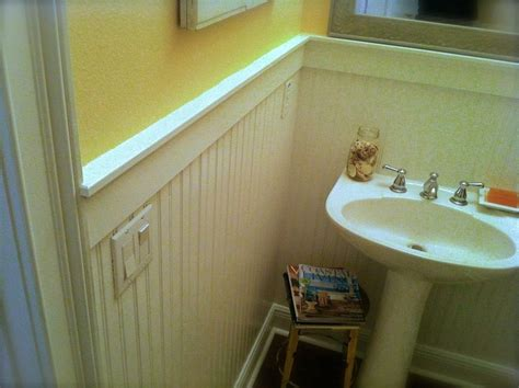 Bathroom Beadboard Installation by How To Install Beadboard Wainscoting Like A Pro