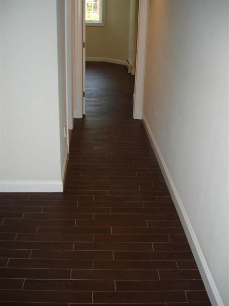 wood tile floor set  thirds  mimmic  wood floor