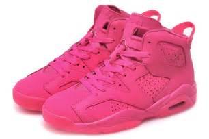 cheap air jordan retro 6 all pink online for sale