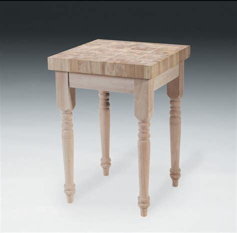 kitchen island legs unfinished solid wood unfinished butcher block kitchen island fast