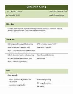 9 best different types of resumes formats sample best for Different resume formats