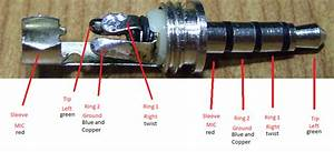 Apple 1  8 In Audio Jack Color-coded Wiring Diagram