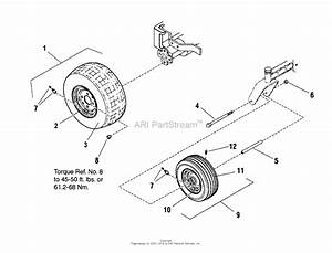 Snapper Sc2450  7800391  50 U0026quot  24hp Zt Twin Stick Rider 150z Series Parts Diagram For Wheel  U0026 Tire