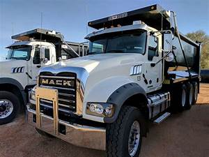 2017 Mack GRANITE GU713 Dump Truck For Sale, 22,355 Miles ...