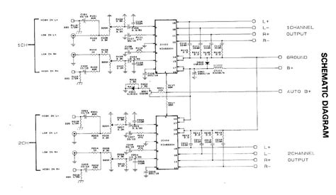 automotive car and motorcycle electronic circuit diagrams