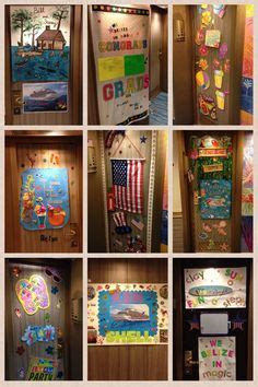 bahamas christmas decorations 10 ideas for decorating your cruise cabin door to be