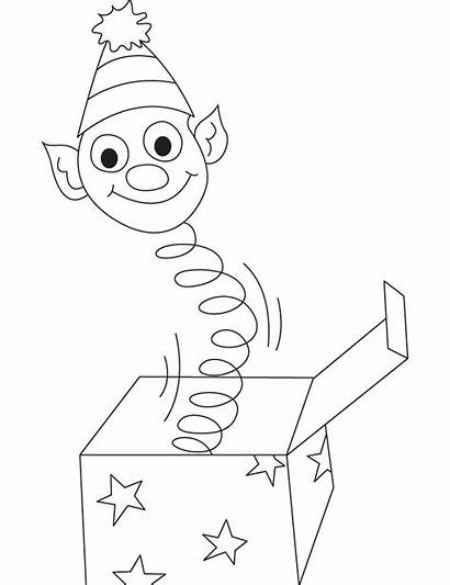 Coloring Box Pages Jack Printable Juice Toy