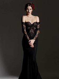black lace mermaid wedding dresses naf dresses With black lace dress for wedding