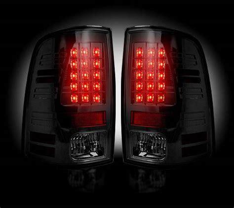 2013 ram 1500 tail lights recon smoked led tail lights 2013 17 dodge ram 1500 2500