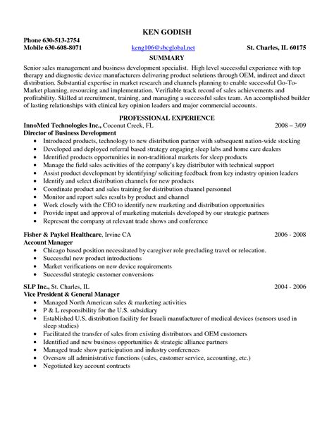 Sales Rep Responsibilities Resume by Sle Resume Entry Level Pharmaceutical Sales Sle