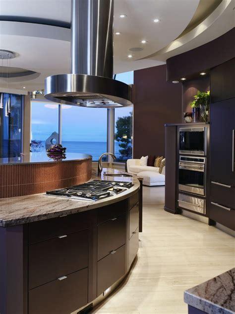 cuisiner marron hi tech kitchen design