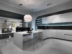 Strisce Led Per Pensili Cucina: Cucina sfera larice moderna con ...