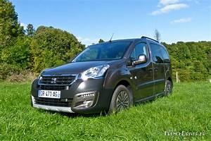 Peugeot Partner Tepee Outdoor : vid o la d couverte du nouveau peugeot partner tepee french driver ~ Gottalentnigeria.com Avis de Voitures