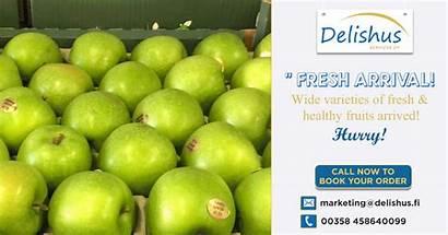 Delishus Order Fi Fruits Arrived Fruit