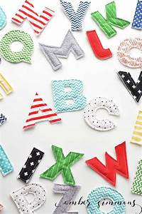 fabric alphabet with the cricut maker With fabric letter cutter