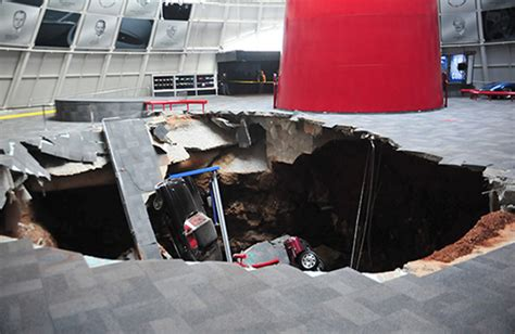 Corvette Museum Sinkhole 2014 by Chevrolet To Restore Corvettes Swallowed By Sinkhole Driving