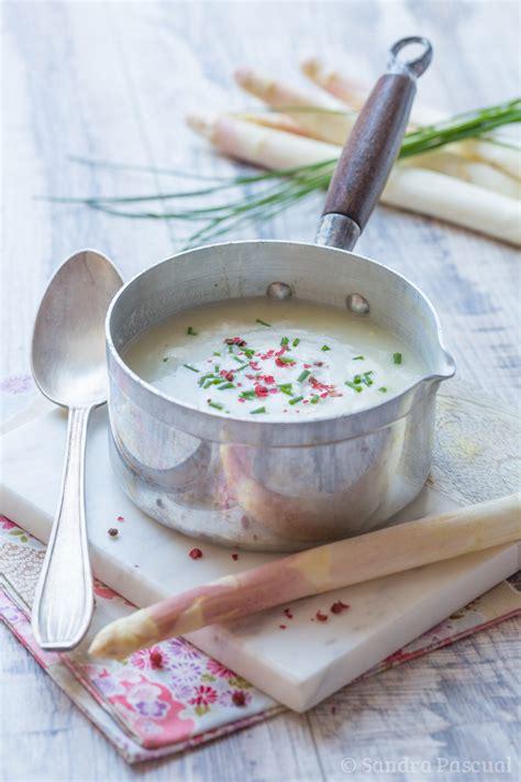 asperge cuisiner crème d 39 asperges blanches cuisine addict