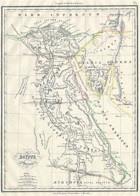 map  ancient egypt  nubia