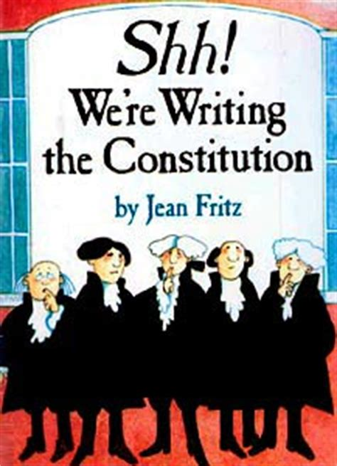 shh  writing  constitution kids book