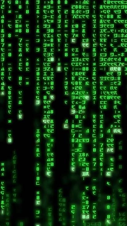 Matrix Wallpapers Code Iphone Fond Phone Cool