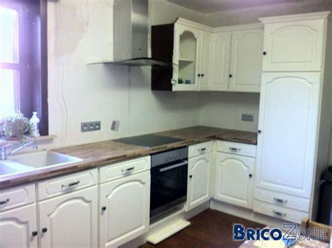 peindre armoire de cuisine en chene peindre meuble de cuisine en chene images