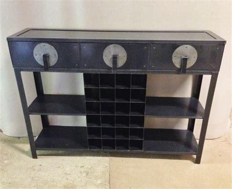 console de cuisine console de cuisine chic en métal