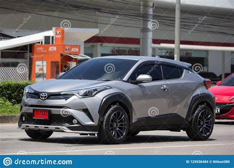 Toyota Chr Hybrid Picture by Toyota Chr Subcompact Crossover Suv Hybrid Car Editorial