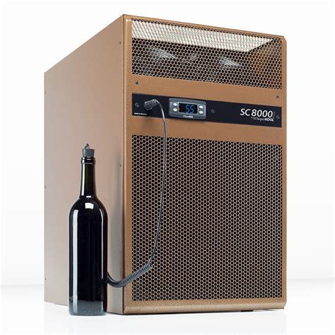 whisperkool sc   wall wine cellar cooling system