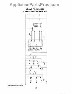 Parts For Thermador Prg484ggus  Prg484gg Schematic Diagram