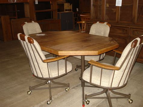 Dinette Sets With Rolling Chairs by Dining Table Dining Table Sets Rolling Chairs