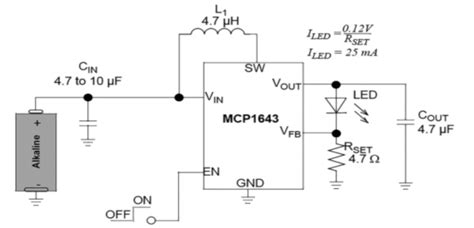 Led Boost Driver For Low Start Voltage Use