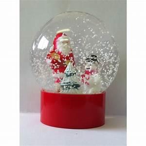 Boule De Neige Noel : boule de noel en verre avec neige ~ Zukunftsfamilie.com Idées de Décoration