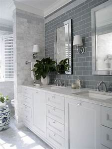 23 amazing ideas for bathroom color schemes for Blue and gray bathroom designs