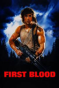 First Blood (1982) - Posters — The Movie Database (TMDb)