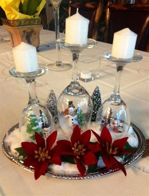 beautiful christmas table decorations ideas
