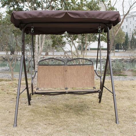 swing patio furniture outdoor canopy swing glider hammock patio furniture