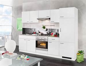 Küchenzeile Mit Elektrogeräten : k chenzeile valencia mit elektroger ten set 1 270 cm online kaufen otto ~ Indierocktalk.com Haus und Dekorationen