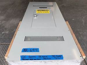 Ge 400 Amp Panel Panelboard 1 Phase Single One 240v  120v