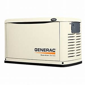 Generac 6245 8kw Automatic Standby Generator  Replaces