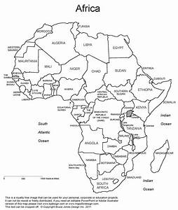 Best Photos of Large Printable Map Of Africa - Printable ...