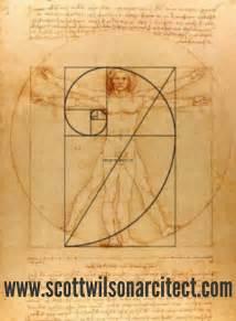 Leonardo Da Vinci Vitruvian Man Golden Ratio