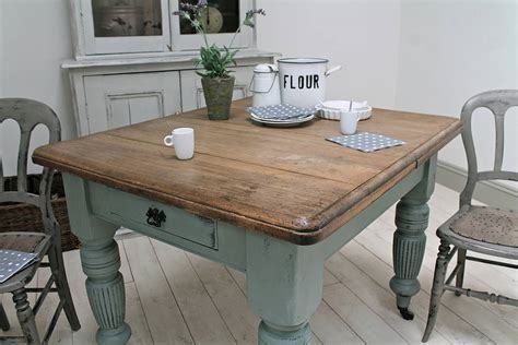 distressed antique farmhouse kitchen table  distressed