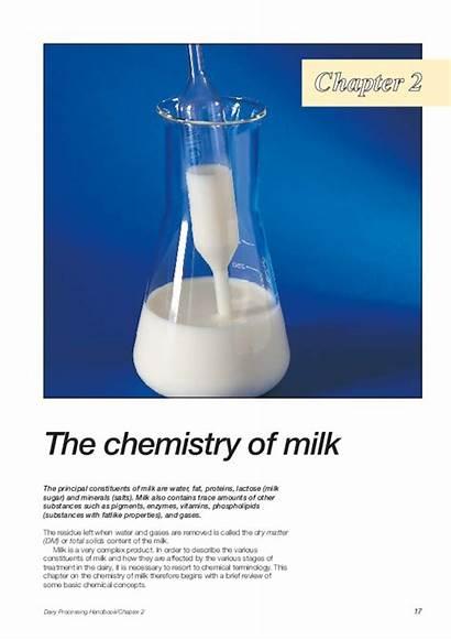 Milk Chemistry Dairy Handbook Processing Chapter Academia