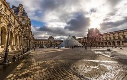 Louvre Paris Building Desktop Hdr France Wallpapers