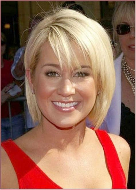 short hairstyles  fine straight hair   face