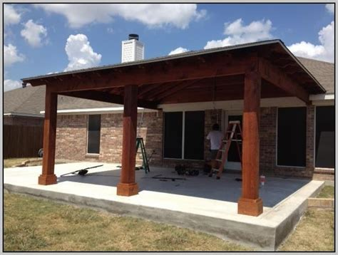 how to build a patio cover attached to house attached patio cover plans patios home design ideas