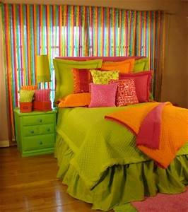 Lime Sensation Brightly colored Bedding