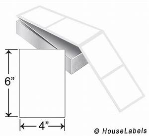 self adhesive labels for all printers houselabelscom With 4x6 adhesive labels