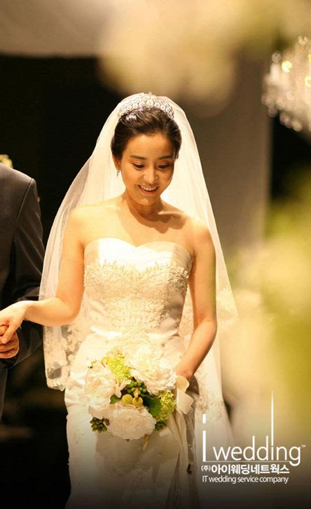korean actress park eun hye wedding day