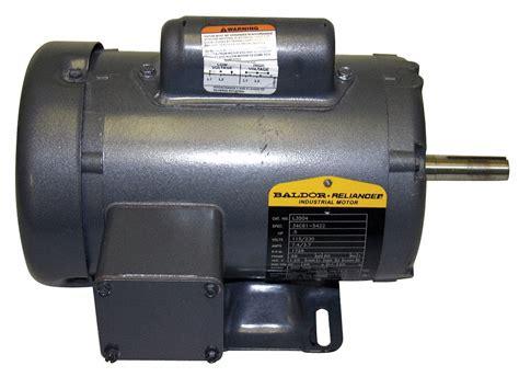 Baldor Electric Motors by Baldor Electric Motor 3 4 Hp 1725 Rpm 115 230v 56 Tefc